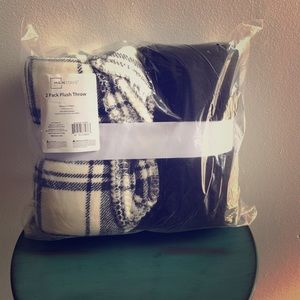 NWT Plush Throw Blankets